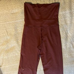 Lululemon fold over waistband pant